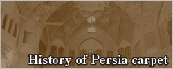History of Persia carpet